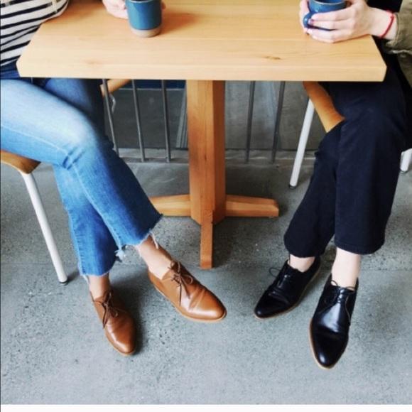 49742f0ef4fa Everlane Shoes | Modern Oxford Black | Poshmark